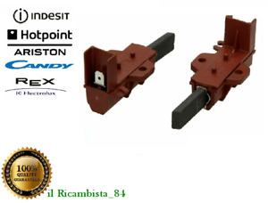 ARISTON INDESIT REX CANDY COPPIA SPAZZOLE CARBONCINI LAVATRICE HOTPOINT 047317