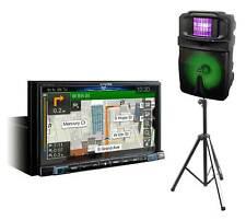 "Alpine INE-W987HD 7"" Digital Media CarPlay Android GPS Receiver+Party Speaker"