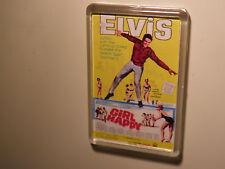 ELVIS PRESLEY  GIRL HAPPY       FILM POSTER  FRIDGE MAGNET