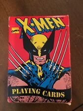 Rare Marvel X-men 80s-90s Playing Cards