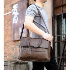 Men's Leather Handbag Tote Bag Fashion Casual Briefcase Shoulder Messenger Bags