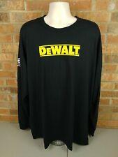 DeWalt Joe Gibbs Racing Toyota Nascar Team Issued Long Sleeved T-shirt 3XL