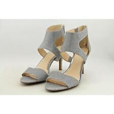Jessica Simpson Mekos Women US 12 Silver Sandals Blemish  12176