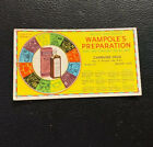 Vintage Ad Wampole's Preparation Tonic Card Litho Zodiac Spencer, MA Drug Store