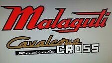 MALAGUTI CAVALCONE CROSS  RADIALE FULL PAINTWORK DECAL KIT