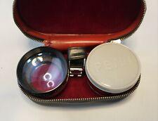 Vintage Petri Aux 3 Lens Set w/ Case Telephoto Wide Angle Tele-Wide Finder f1.9