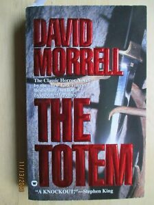 The Totem by David Morrell, SIGNED