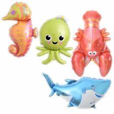 XL supershape sea foil balloon Shark Lobster Whale Octopus Starfish Seahorse