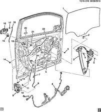 ORIGINAL Chevrolet Daewoo Spark Auflage Schaumstoff für Tür Fenster 96666686