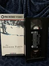American Experience - The Donner Party (VHS, 2001) Protective Case *Mint