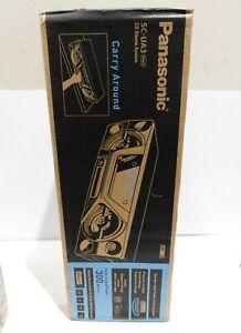 Panasonic SC-UA3GN-K 300W Compact & Portable Mini Hi-Fi System
