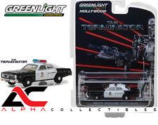 "GREENLIGHT 44790-C 1:64 1977 DODGE MONACO METRO POLICE  ""THE TERMINATOR"""
