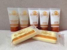 7 x Revitalize Bergamot Travel Size Kit Lot Shampoo,Soap,Lotion,olAy rOc ClARInS