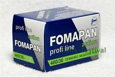 5 rolls FOMAPAN 400 35mm 36exp Black and White Film 135-36