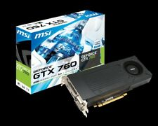 MSI Nvidia GTX 760 2GB 2GD5/OC graphics card; excellent condition