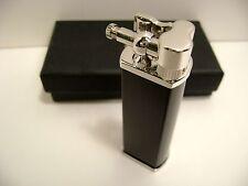 Tsubota Pearl BOLBO Gloss Black model Pipe Lighter Seki City, Japan Old Boy best