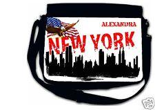 Sac bandoulière moyen modèle new york réf 07 personnalisé avec prénom