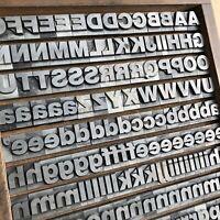 60p fette HELVETICA Bleisatz Handsatz Bleilettern Druck 22,5 mm Letterpress Type