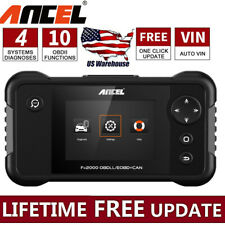 ANCEL FX2000 Car OBD2 Diagnostic Scanner Check Code Transmission ABS SRS Engine