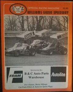 1981 Williams Grove Speedway Program May 8th Paxton Snellbaker Camp Old School