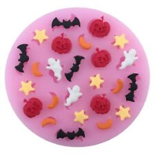 Halloween Theme Silicone Fondant Mold Mould Cake Chocolate Decor Mold Hot Sale