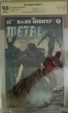DARK NIGHTS: METAL SPECIAL EDITION # 1 CBCS CGC 9.8 SS SIGNED CAPULLO & SNYDER