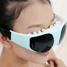 Electric Eye Care Massager Glasses Magnetic Vibration Relax Anti-Aging Forehe_jy