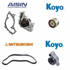 5-PCS Aisin OEM Timing Belt Water Pump Kit TKT006 Fits Toyota Lexus 3.3L 3.0L V6