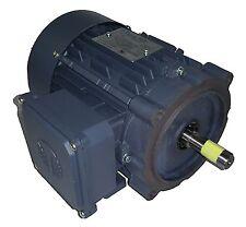 TECHTOP 0.5 HP 3600 RPM TEFC 208/230/460 VOLTS 56C 3 PHASE MOTOR NEW SURPLUS