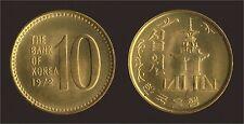 KOREA COREA DEL SUD 10 WON 1972 - FDC/UNC FIOR DI CONIO