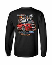 Ford Mustang Shelby Car Adult Men's Long Sleeve Shirt Black