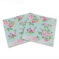 color printing paper napkins rose festiveparty tissue floral decoration 20pcRCFS