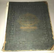 Antique 1874 Atlas Lenawee County Michigan Published by Everts & Stewart