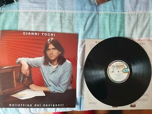 Gianni Togni - Bollettino dei naviganti - LP
