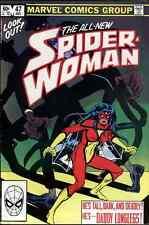 SPIDER-WOMAN #47 VERY FINE/ NEAR MINT 1982 MARVEL COMICS bin16-985
