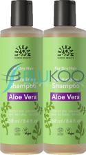 Urtekram Organic Aloe Vera Shampoo for Dry Hair - 250ml (Pack of 2)