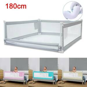 180CM Bed Safety Guards Folding Child Toddler Bed Rail Safety Protection New UK