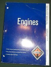 02 03 INTERNATIONAL VT-365 DIESEL ENGINE SERVICE SHOP REPAIR MANUAL EGES-235-2