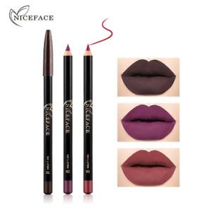 Colors Fashion LipStick Makeup Pencils Long Lasting Pigments Waterproof Matte