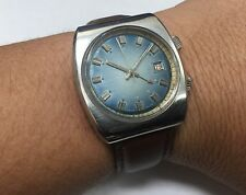Vintage 1970's Marcel & Cie Mechanical 17 Jewels Incabloc Alarm Watch