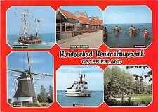 BG10481 ship bateaux windmill nordseebad neuharlingersiel ostfriesland   germany