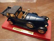 Automobilina modellino auto car toy RENAULT 40 cv Solido 1926 Blu 1/43 ref 149