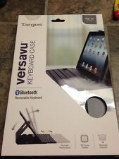 Targus Versavu Keyboard Case for iPad Air- Black (THZ192US)