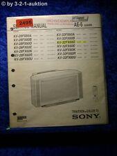 Sony Service Manual KV 28FX60D /A /B /E /K /R /U / 32FX60D (#2495)
