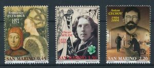 [84011] San Marino 2004 Famous People good set of stamps very fine MNH