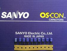 10pcs Oscon Sanyo OS-CON 150µF/6,3V