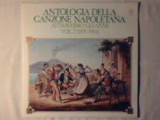 LP Antologia della canzone napoletana attraverso gli anni vol 2 (1895 - 1904) lp