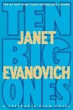 Ten Big Ones (Stephanie Plum Novels) Evanovich, Janet Hardcover with DJ