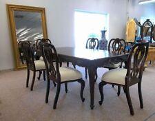 6er Stuhl Set / Esszimmerstühle ohne Armlehne massiv Mahagoni Handarbeit