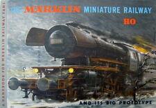 Bedienungsanleitung MÄRKLIN Miniature Railways '58 Englisch English True Vintage